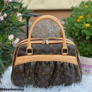 Authentic LOUIS VUITTON MITZI Monogram Bag